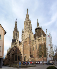 View of Ulm Minster - Germany, Baden-Wurttemberg