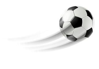 Fliegender Fussball