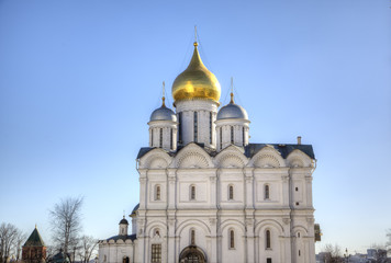 Cathedral of the Archangel. Moscow Kremlin, Russia