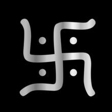 Swastika Symbol des Jainismus Religion
