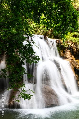 Huay mae kamin waterfall in Thailand - 62645159