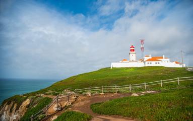 Cabo da Roca. Lighthouse. Portugal