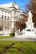 Mozart''s statue in Hofburg Palace garden, Vienna, Austria