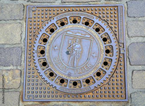 manhole cover emblem of Trier - 62645945