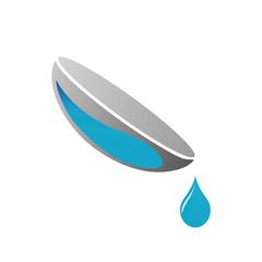 Contact lens business logo