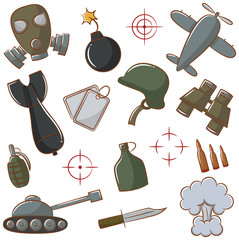 War Icons Set