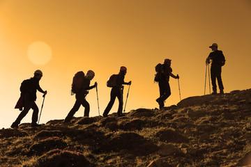 dağ tırmanışı&zirveye doğru