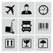 Logistics icons,vector