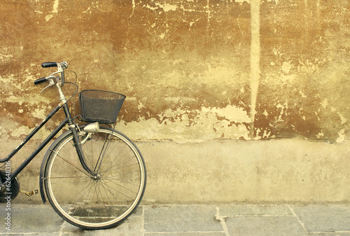 Staande foto Fiets Vintage bicycle