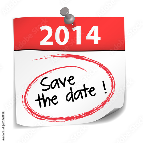 post-it : save the date 2014 (cs5)