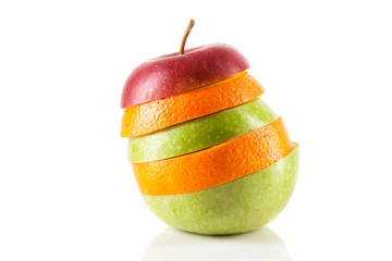 Apfel Orangen Mix