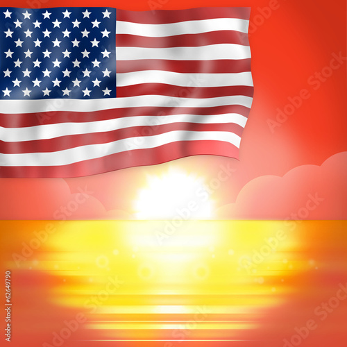 Sunset Horizon America