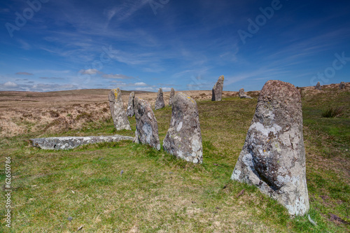 Mystic place in Dartmoor - HDR Image