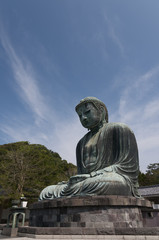 Daibutsu or Budha Amida in Kotokuin temple, Japan