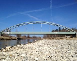 Flussbrücke