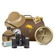 Vector Safari Accessories Concept - 62652306