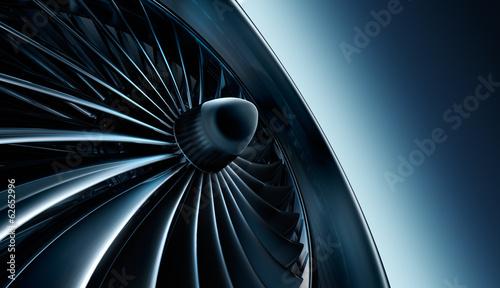 Leinwanddruck Bild Turbine 3