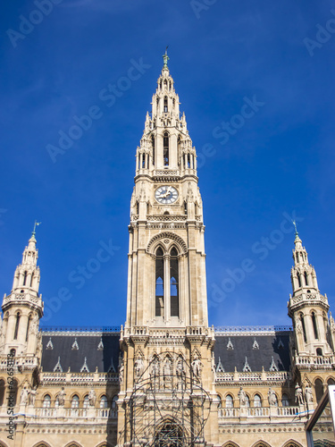 Vienna, Austria. Architecture of a city town hall