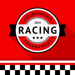 Racing badge 04