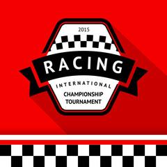 Racing badge 05