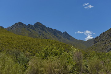 Tradouw pass in Western cape, South Africa