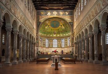 Basilica of Saint Apollinaris in Classe, Emilia-Romagna, Italy