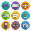 Video Games Controller Icons Set - 62655990