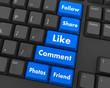 Sticker - Les médias sociaux