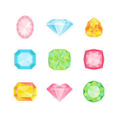 Colorful Geometric Diamonds