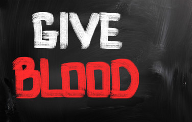 Give Blood Concept