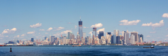 NYC Skyline in Fall 2012