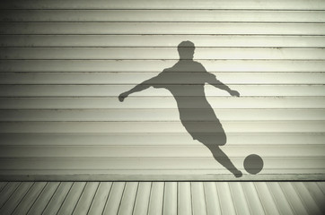 Footballer Shadow
