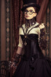 steampunk in glasses