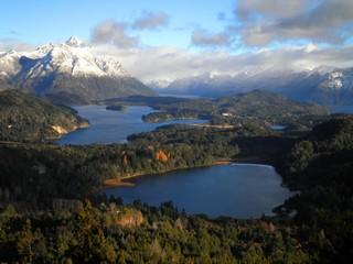 Incredible view of Patagonia