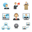 Business People Icons Set