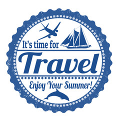 It's time for travel stamp