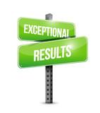 exceptional results illustration design poster