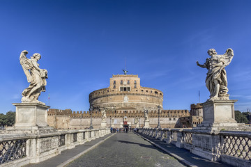 from the Sant'Angelo bridge