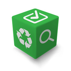 GREEN ecology cube
