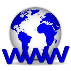 bola del mundo 3d www