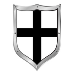 Shield medieval Teutonic Order