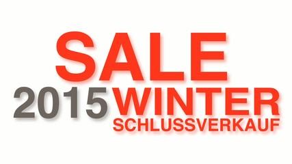Winterschlussverkauf 2015