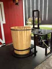 Barrel making process