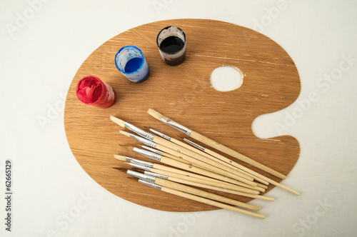New Painting Wooden Palette
