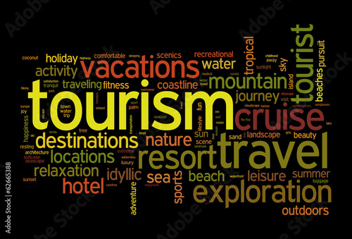 Tourism and travel concept