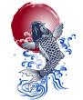 日本的な鯉