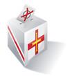 Wahlbox Guernsey