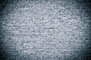 Dark gray brickwall surface