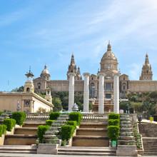 Musée national à Barcelone. Espagne