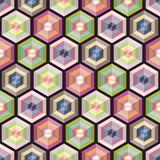 Seamless background geometry pattern